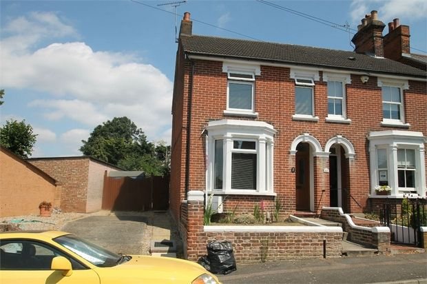 Thumbnail Semi-detached house for sale in 47 Hamilton Rd, Colchester, Essex