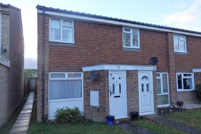 Thumbnail Terraced house to rent in Rothervale, Horley
