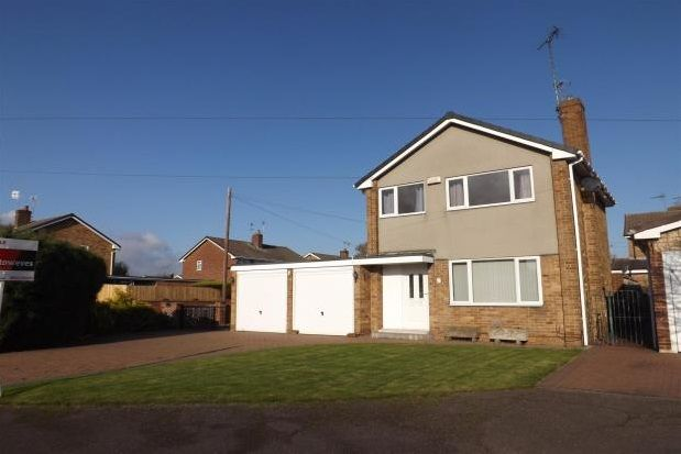 Thumbnail Detached house to rent in Tewkesbury Avenue, Mansfield Woodhouse, Mansfield