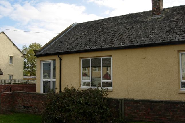 Thumbnail Terraced bungalow to rent in Wellgarth, Evenwood, Bishop Auckland