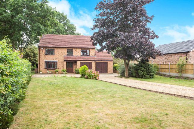 Thumbnail Detached house for sale in Downham Road, Watlington, King's Lynn