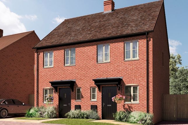 Thumbnail 2 bedroom semi-detached house for sale in Banbury Road, Southam, Warwick