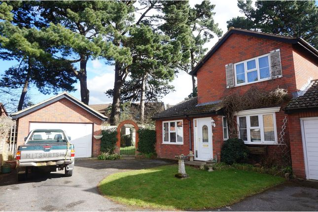 Thumbnail Link-detached house for sale in Harbourne Gardens, West End, Southampton
