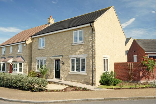 Thumbnail Detached house for sale in Merlin Close, Coopers Edge, Brockworth, Gloucester
