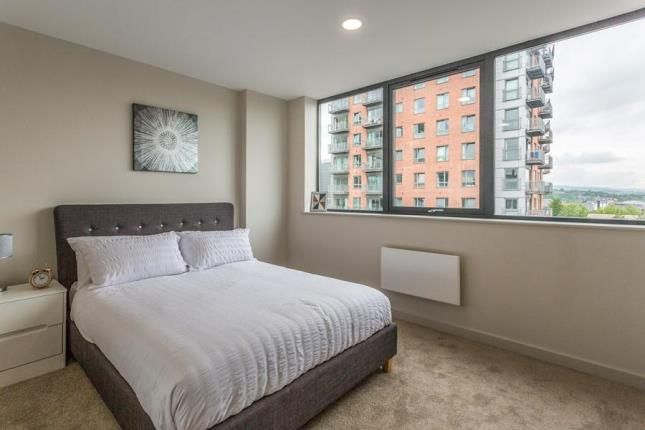 Bedroom of Holman House, 125A Queen Street, Sheffield S1