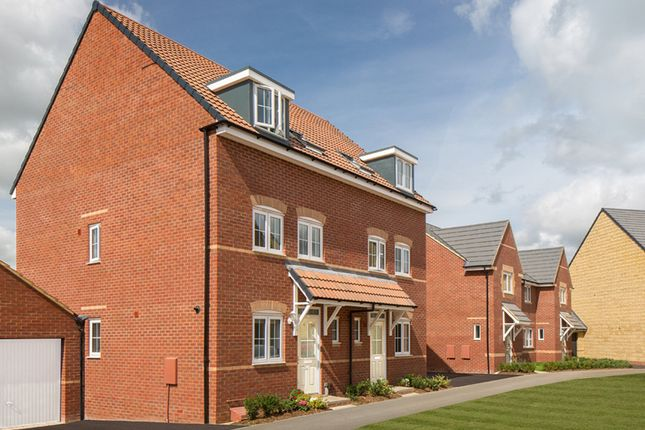 """Thumbnail Semi-detached house for sale in """"Padstow"""" at Bruntcliffe Road, Morley, Leeds"""