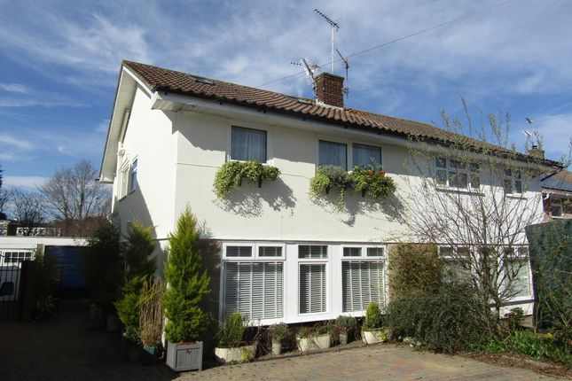 Thumbnail Semi-detached house for sale in The Dale, Widley, Waterlooville