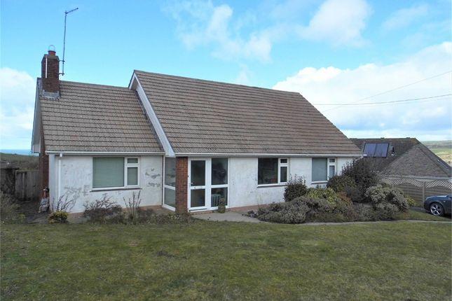 Thumbnail Detached bungalow for sale in Braeside, Feidr Brenin, Newport, Pembrokeshire