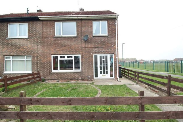 Thumbnail Semi-detached house to rent in Fieldway, Jarrow