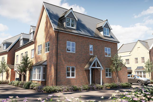 "Thumbnail Semi-detached house for sale in ""The Portland"" at Bishopsfield Road, Fareham"
