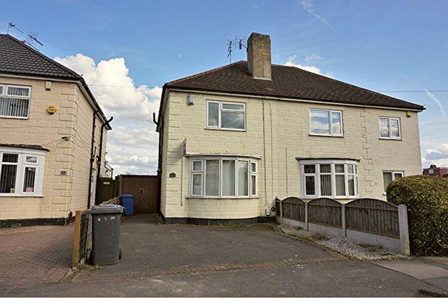 Thumbnail Semi-detached house for sale in Stanley Road, Alvaston, Derby