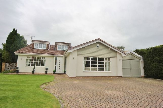 Thumbnail Detached house for sale in Mere Farm Road, Oxton, Wirral