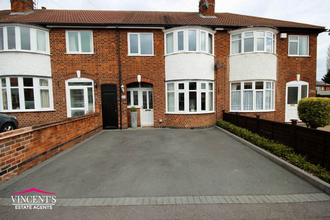Thumbnail Town house for sale in Turnbull Drive, Leicester