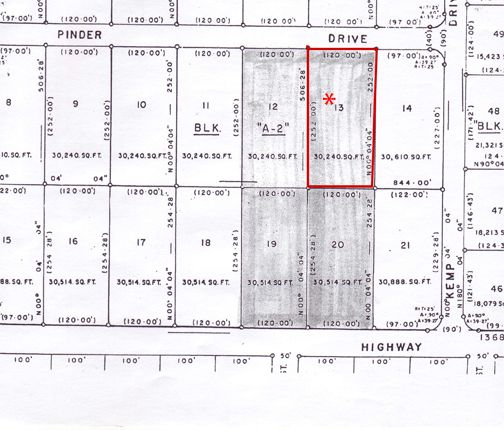Land for sale in Caravel Beach, Grand Bahama, The Bahamas