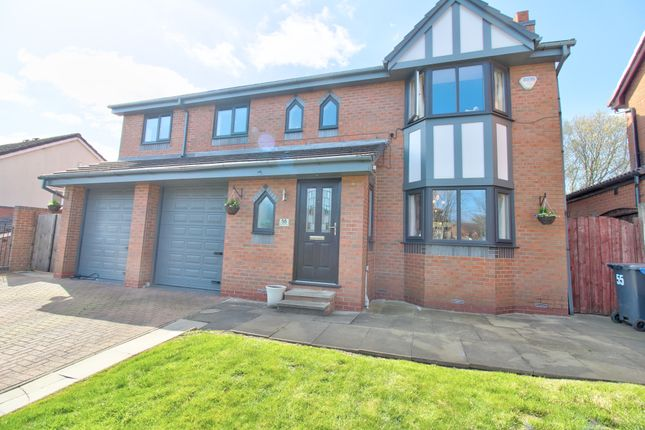 4 bed detached house for sale in Boundary Drive, Bradley Fold, Bolton BL2
