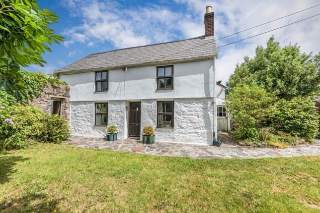 Thumbnail Detached house for sale in Trevarth, Redruth, Cornwall
