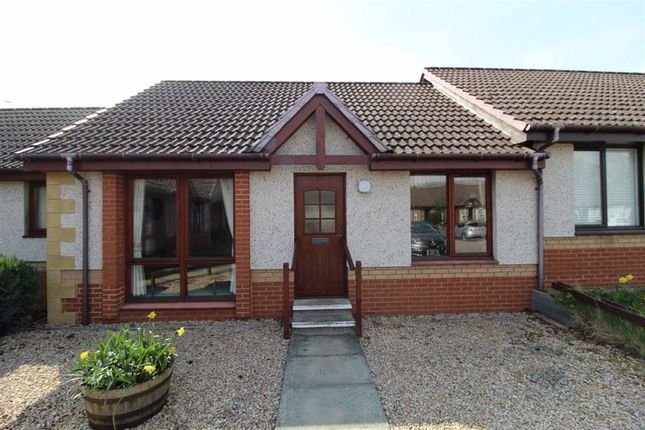 Thumbnail Terraced bungalow for sale in 19, Cradlehall Court, Inverness