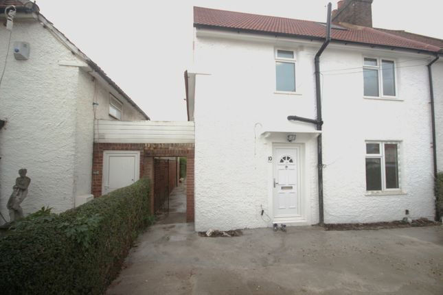 Thumbnail Flat to rent in East Walk, Hayes
