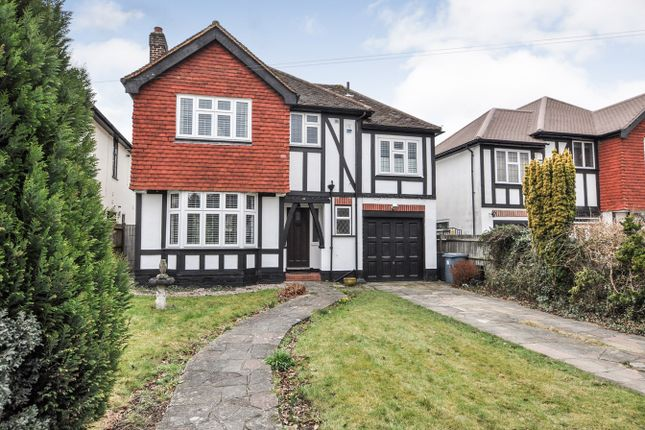 Thumbnail Detached house for sale in Wood Lodge Lane, West Wickham