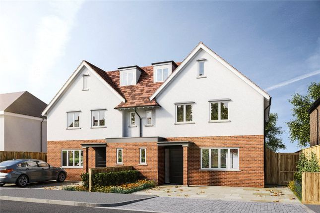 Thumbnail Semi-detached house for sale in Herkomer Road, Bushey, Hertfordshire
