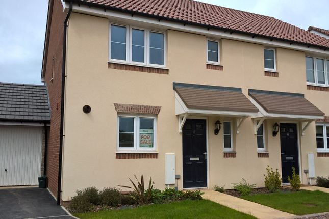 Thumbnail Semi-detached house for sale in Fulmer Copse, Chivenor, Braunton, Devon