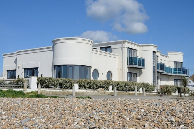 Thumbnail Flat for sale in Blue Waters, Sea Drive, Ferring, West Sussex