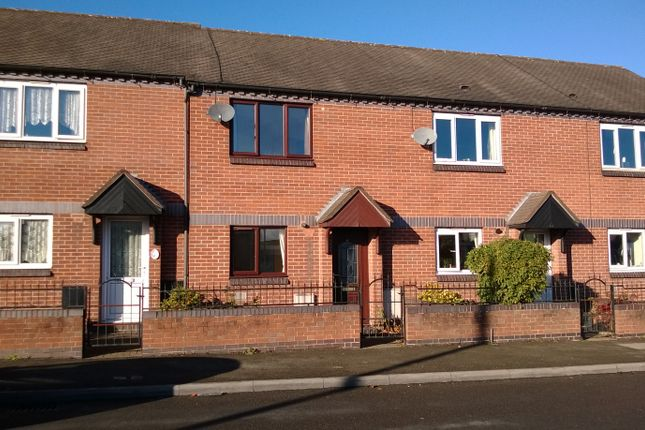 2 bed terraced house to rent in Queen Street, Burntwood