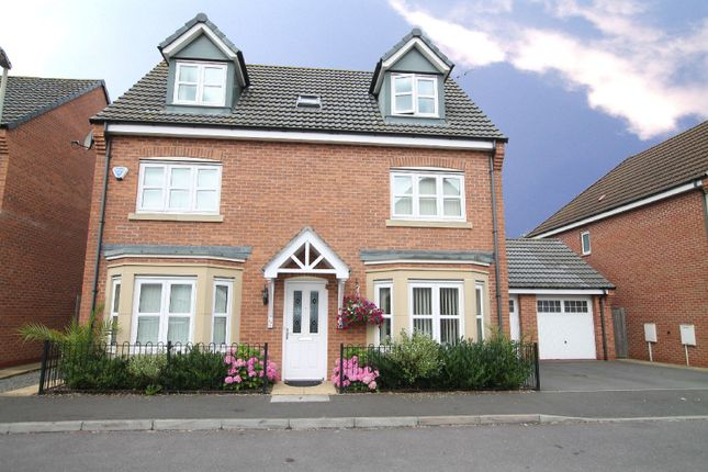 Thumbnail Detached house for sale in Harrow Place, Knighton, Leicester