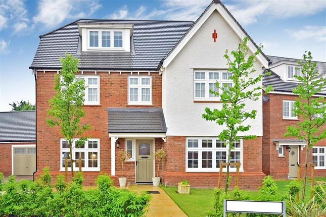 Thumbnail Detached house for sale in Quarry Road, Ryarsh, West Malling, Kent