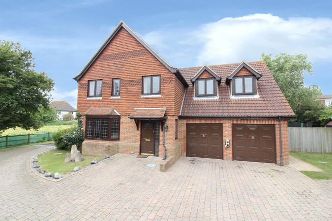 Thumbnail Detached house for sale in Homelands Close, Sellindge, Ashford