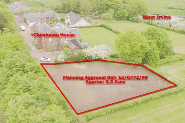 Thumbnail Land for sale in Glendoune House, Plot B, Crookedholm KA36Jx
