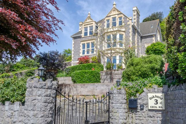 Thumbnail Detached house for sale in Cecil Road, Weston-Super-Mare