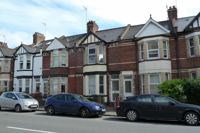 Thumbnail 5 bed terraced house to rent in Bonhay Road, Exeter