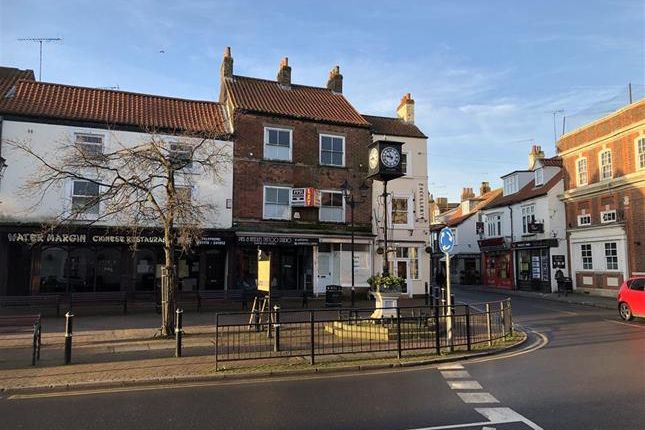 Thumbnail Commercial property to let in & 23A, Market Place, Driffield, East Yorkshire