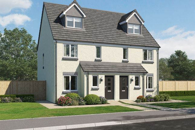 """Thumbnail Town house for sale in """"The Bothwell"""" at Glenboig Road, Gartcosh, Glasgow"""