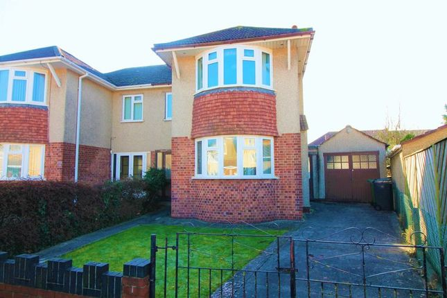 Thumbnail Semi-detached house for sale in Queensholm Close, Downend, Bristol