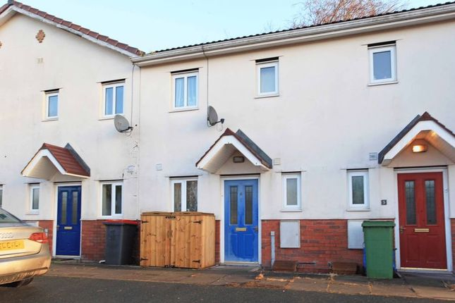 Thumbnail Terraced house for sale in St. Peters Court, Hazel Way, Snedshill, Telford