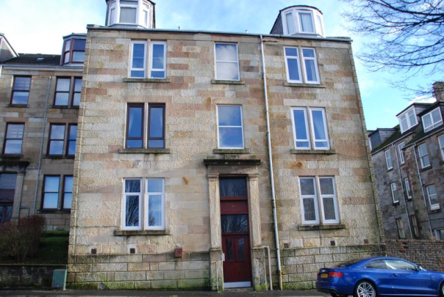 Thumbnail Flat to rent in Trafalgar Street, Greenock Unfurnished