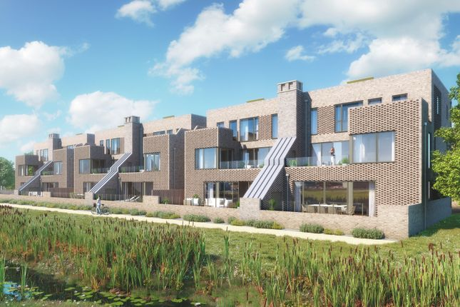 Thumbnail Town house for sale in The Cambridge At Abode, Off Addenbrookes Road, Trumpington, Cambridge