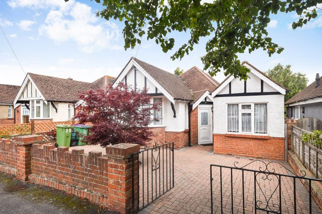 Thumbnail Detached bungalow for sale in Phillip Road, Folkestone