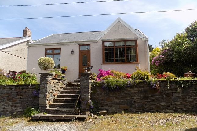 Thumbnail Detached bungalow for sale in Pant Howell Ddu Road, Briton Ferry, Neath, Neath Port Talbot.