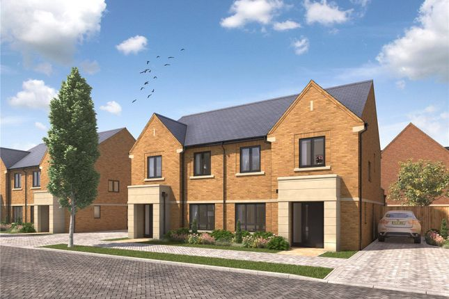 Thumbnail Semi-detached house for sale in Imber Riverside, Orchard Lane, East Molesey, Surrey