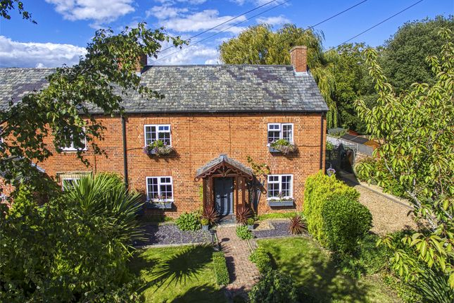 Thumbnail End terrace house for sale in Hunts End, Buckden, St. Neots