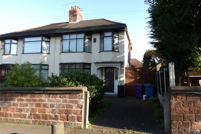 Thumbnail Semi-detached house for sale in Mill Lane, West Derby, Liverpool, Merseyside