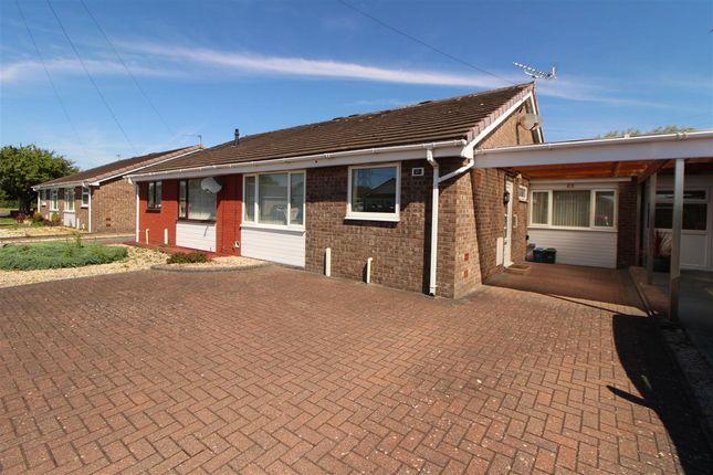 Thumbnail Semi-detached bungalow for sale in Blackbird Road, Caldicot