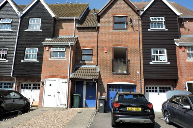 Thumbnail Town house to rent in Santos Wharf, Sovereign Harbour South, Eastbourne, East Sussex