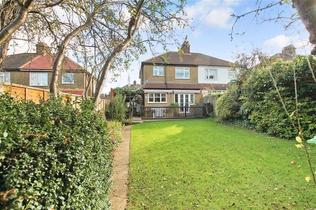 Thumbnail Semi-detached house for sale in Ashleigh Gardens, Sutton, Surrey