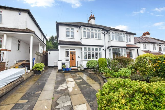 Thumbnail Semi-detached house for sale in Parkhill Road, Bexley Village, Kent