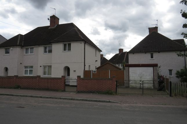 Thumbnail Semi-detached house for sale in Rancliffe Crescent, Leicester