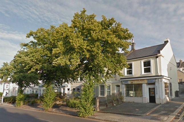 Thumbnail Town house to rent in Wilton Street, Stoke, Plymouth
